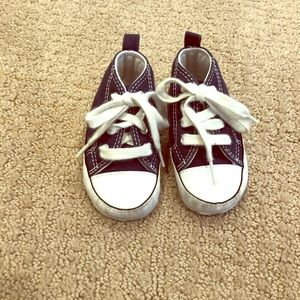 Converse First Star high-top sneakers